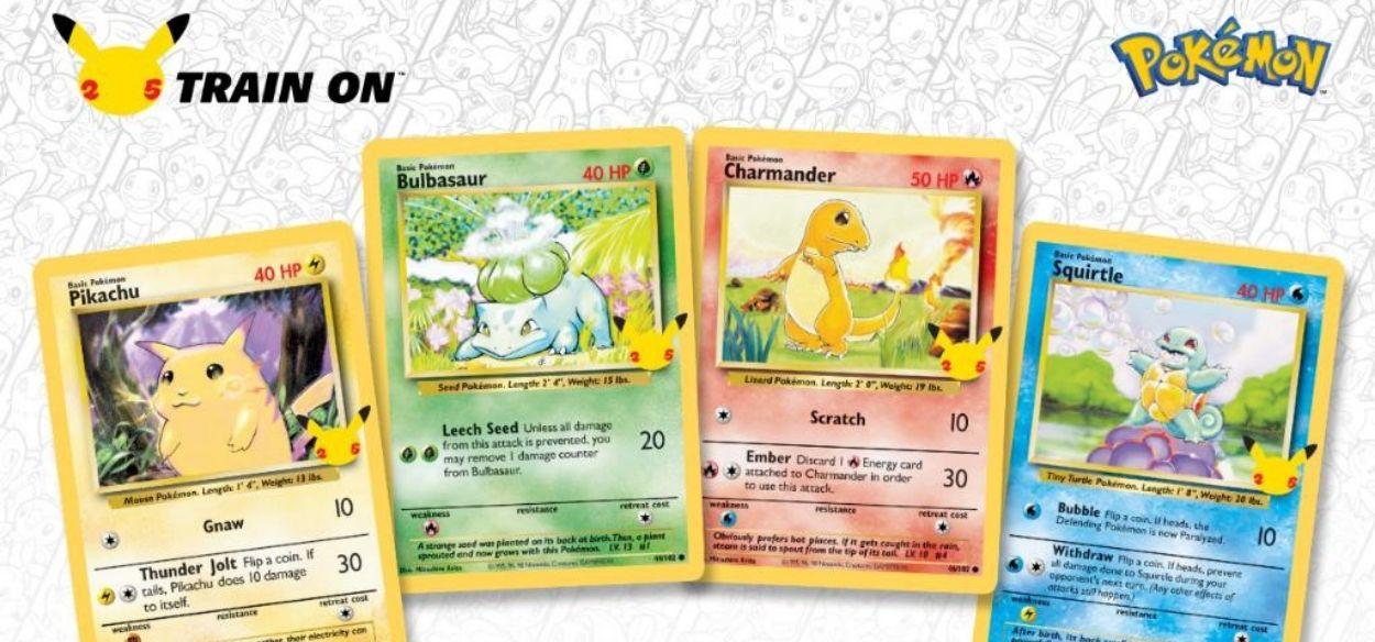 Arrivano le collezioni speciali del GCC Pokémon dedicate al 25° anniversario