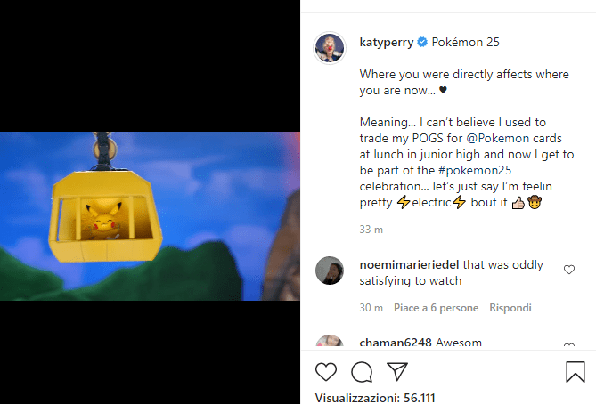 Katy Perry 25 Pokémon