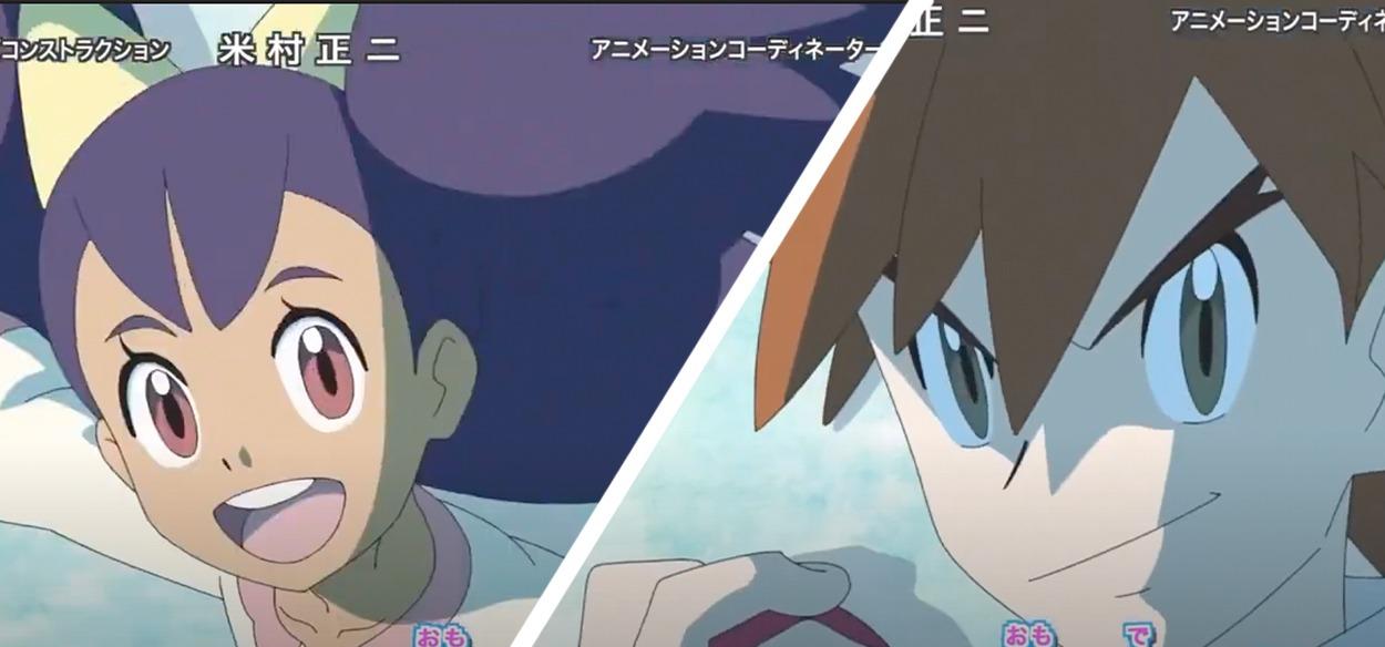 Iris e Gary fanno la loro comparsa nella nuova sigla di Esplorazioni Pokémon