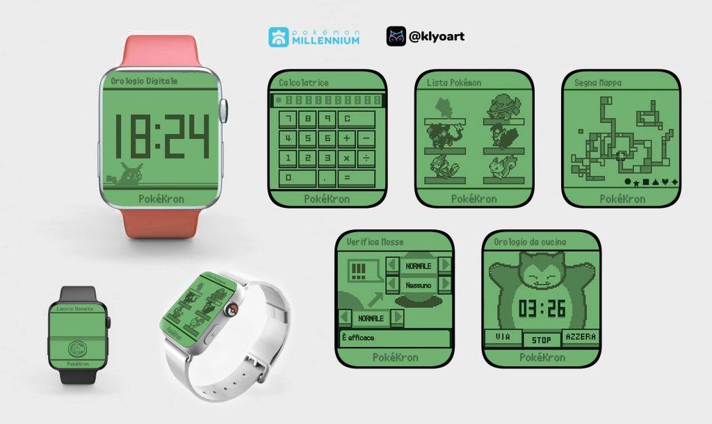 PokéKron Smartwatch remake sinnoh