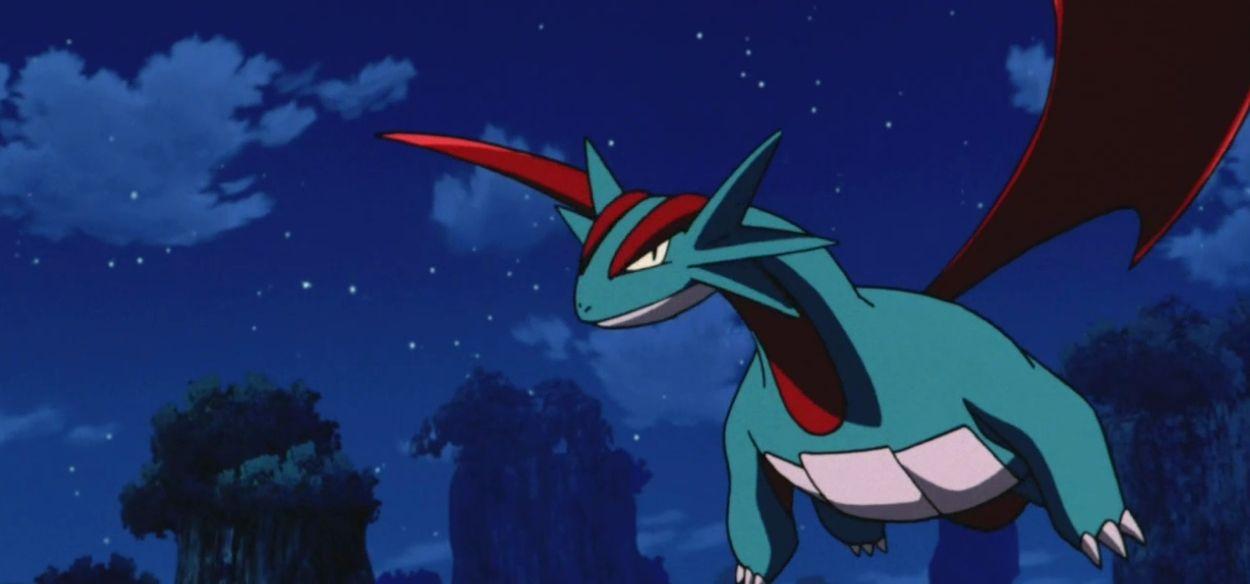 Fan trasferisce un Salamence da Pokémon XD: Tempesta Oscura su Pokémon Spada e Scudo