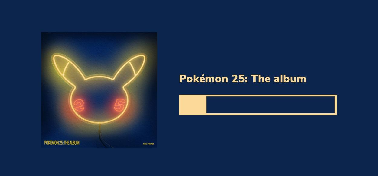 Undici artisti internazionali insieme per l'album musicale Pokémon 25
