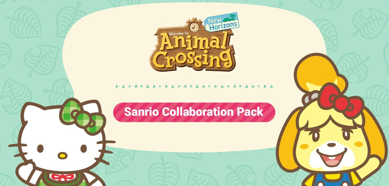 Animal Crossing: New Horizons, ecco la nuova collaborazione con Sanrio