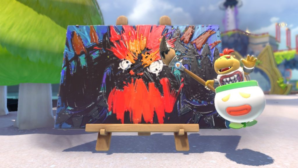 Bowser's Fury- Bowser Jr.