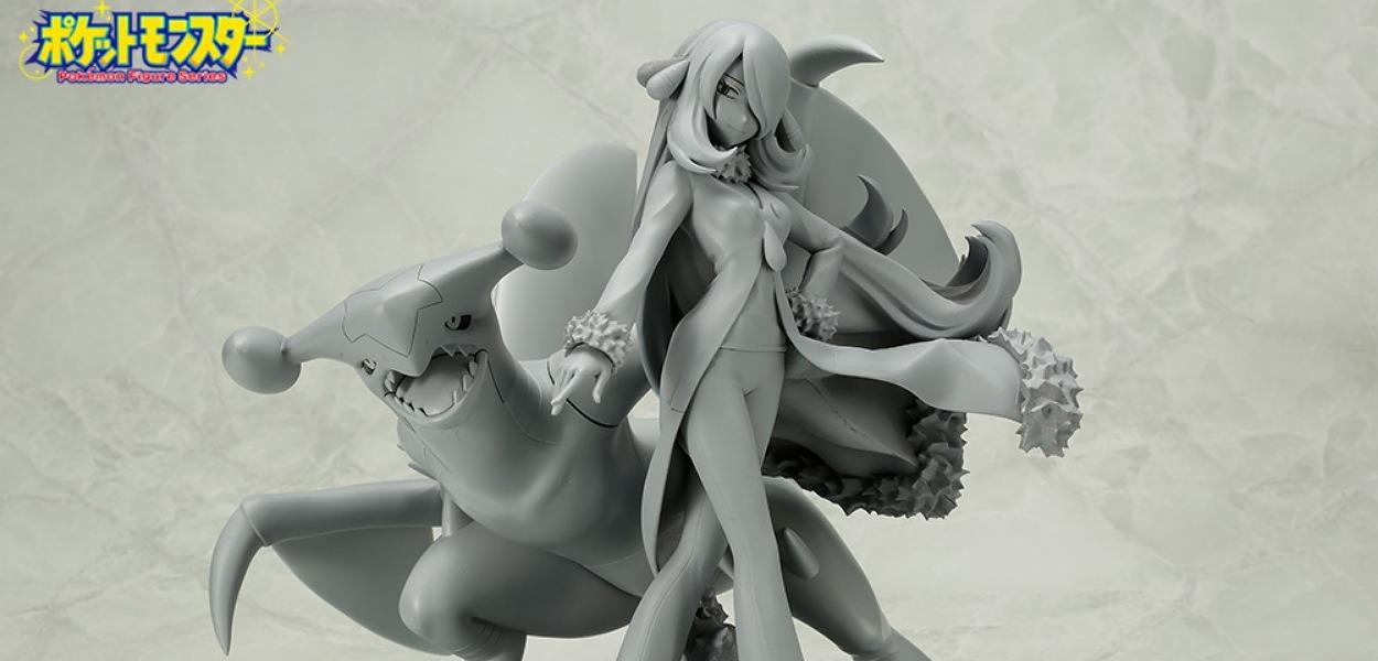 Ecco il prototipo della nuova statuina dedicata a Camilla e Garchomp