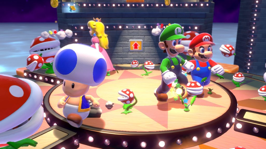 Super Mario 3D World multiplayer