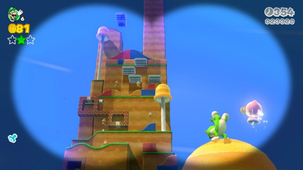 livello di Super Mario 3 D World