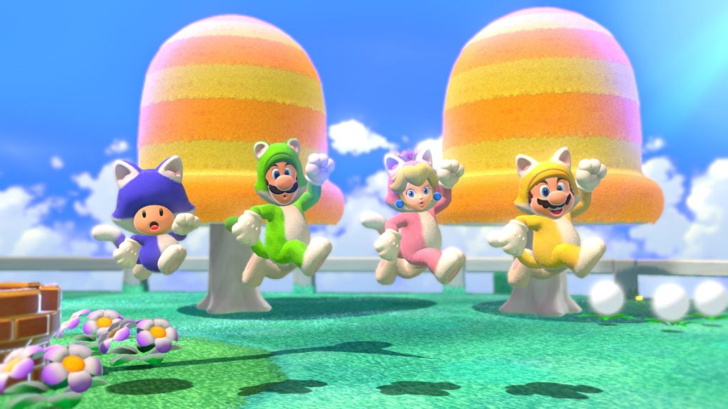 Super Mario 3D World - multiplayer