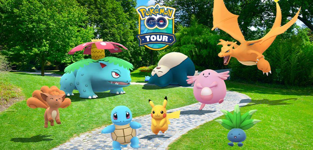 Pokémon GO Tour Kanto missioni