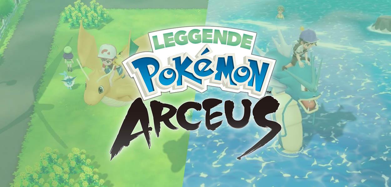 Leak, in Leggende Pokémon: Arceus si potranno cavalcare i Pokémon?