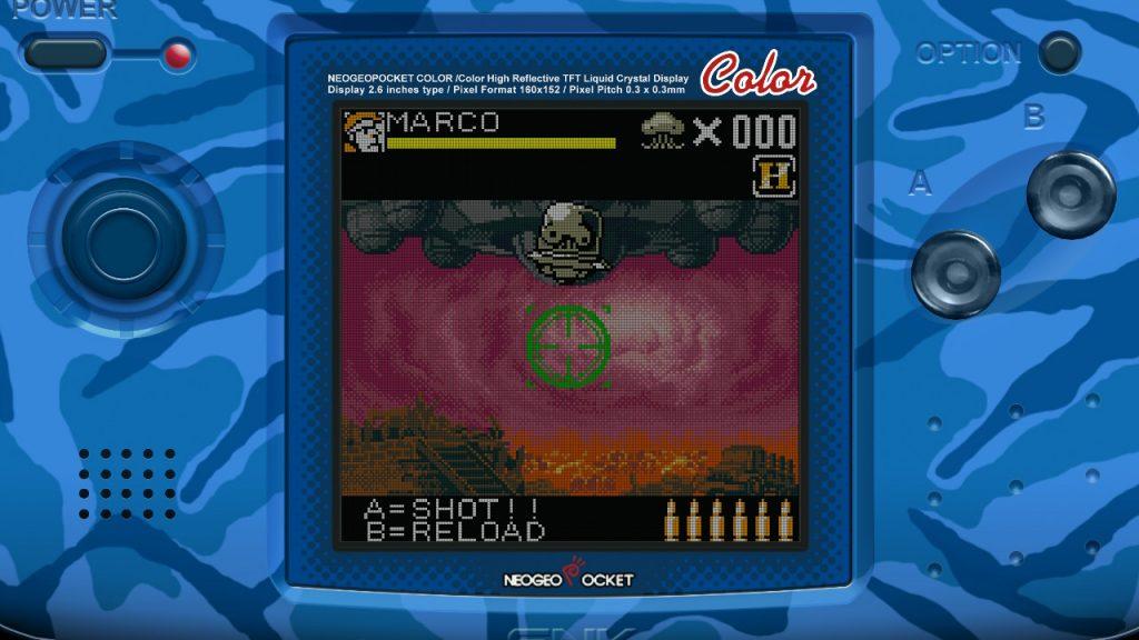 Mini gioco Metal Slug 2