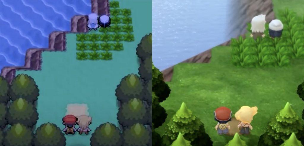 Confronto con Pokémon Diamante e Perla