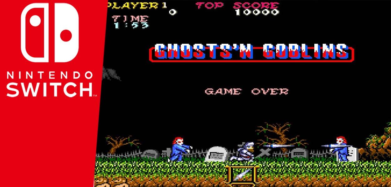 Ghost 'n Goblins in arrivo gratuitamente sul Nintendo eShop