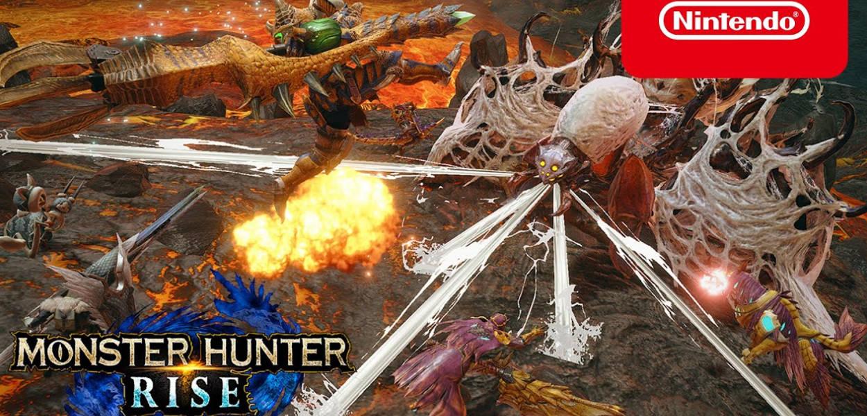 Monster Hunter Rise: un nuovo trailer mostra le armi pesanti