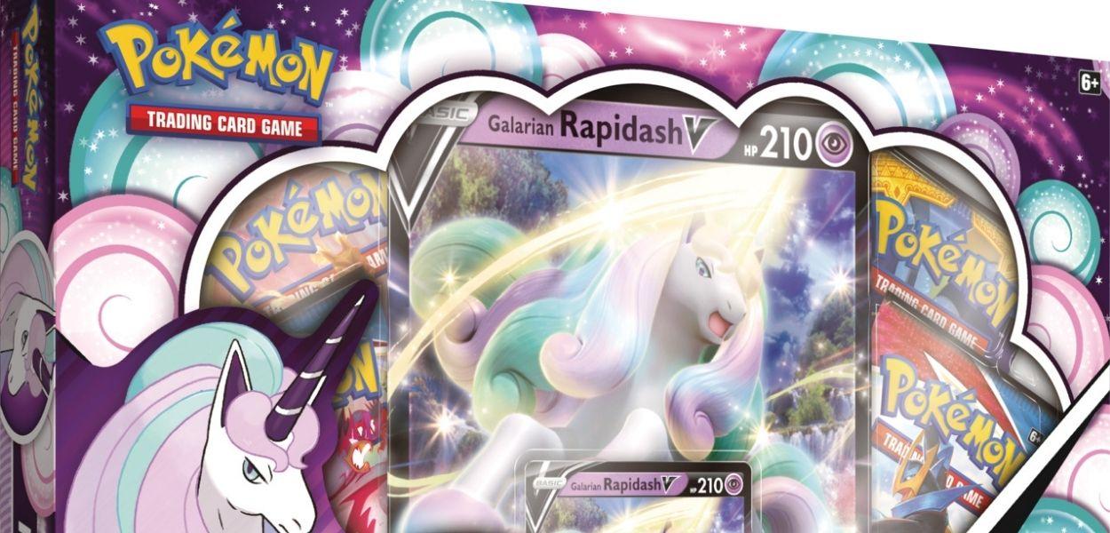 Rapidash di Galar V in arrivo  per il GCC Pokémon