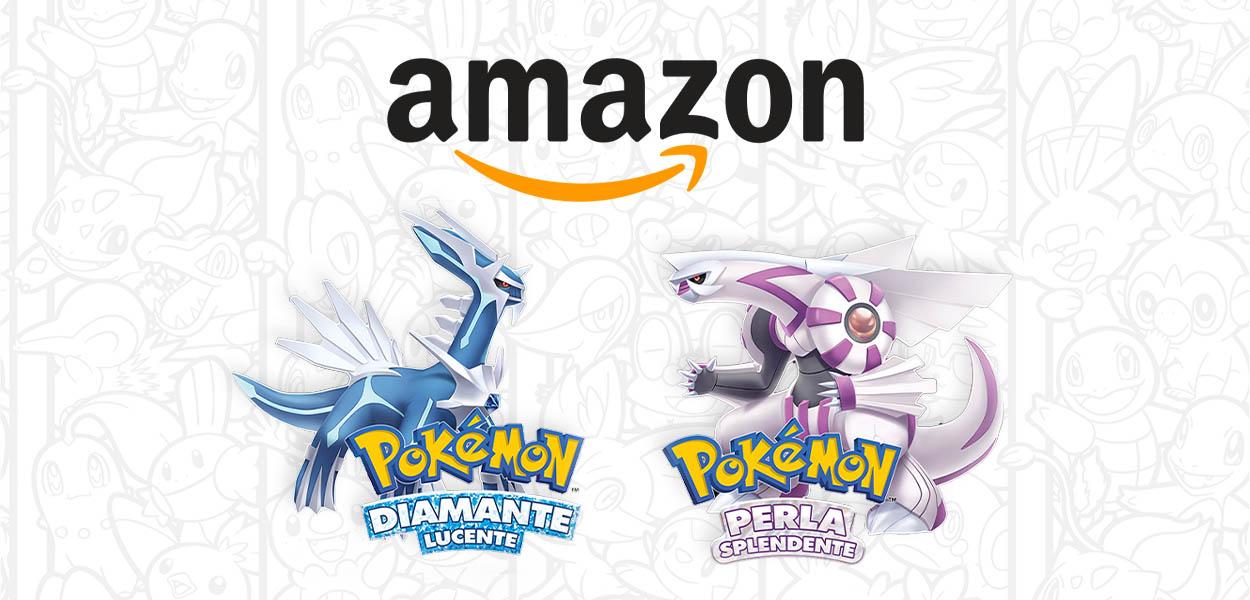 Amazon Italia apre i preordini di Pokémon Diamante Lucente e Perla Splendente