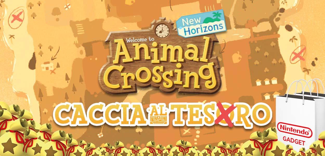 Partecipa alla caccia al tesoro su Animal Crossing: New Horizons e vinci fantastici premi!