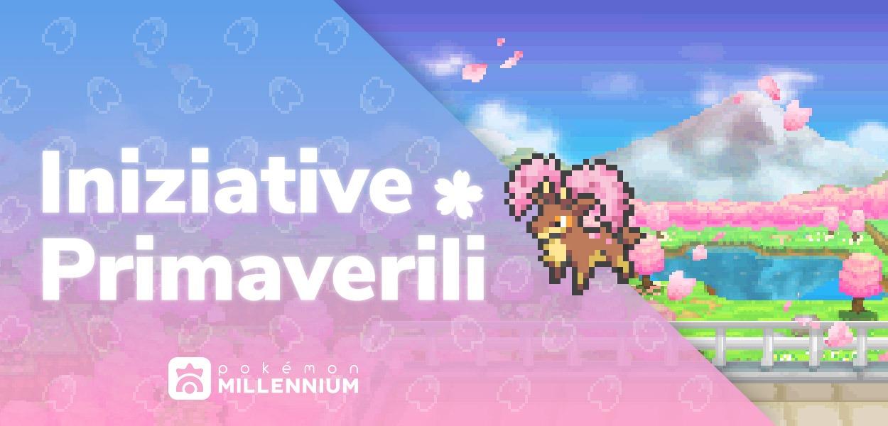 Svelata la stagione primaverile delle iniziative di Pokémon Millennium!