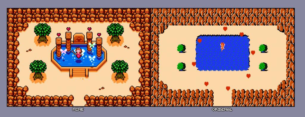 Grafica Zelda