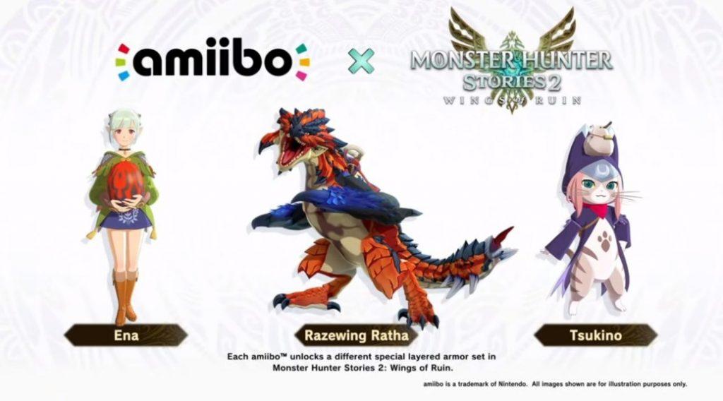 amiibo monster hunter stories