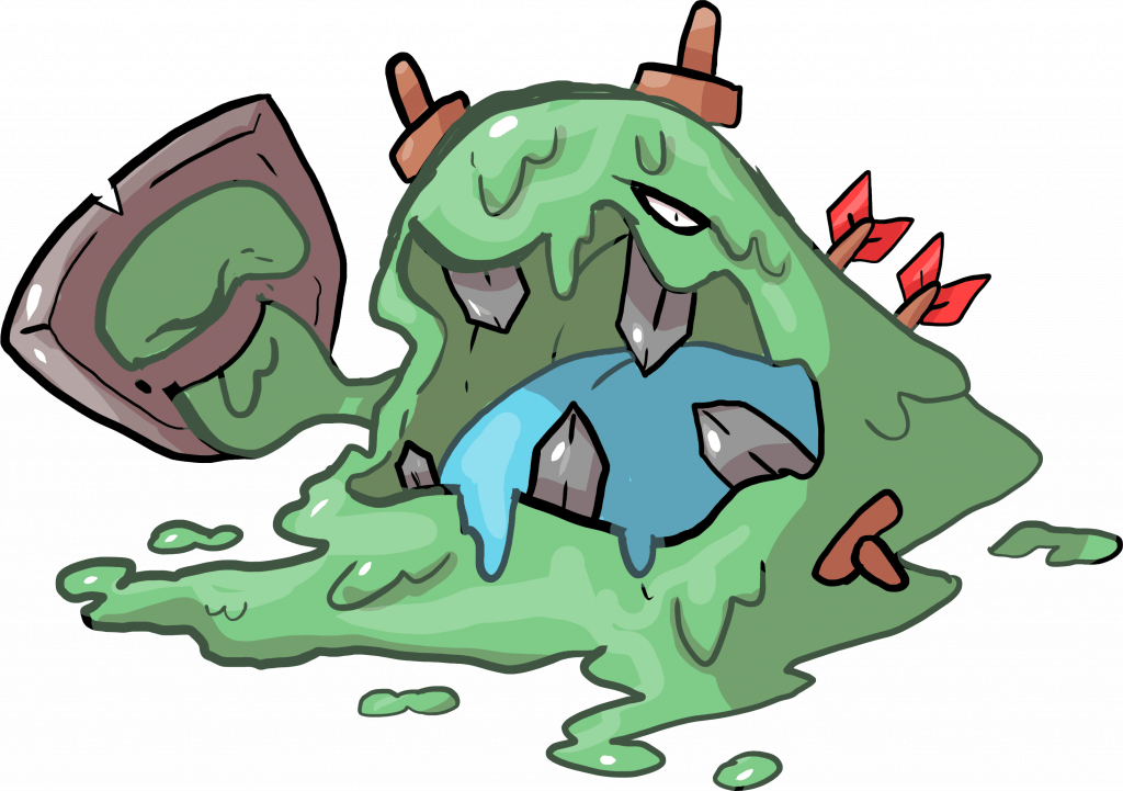 Forme antiche: Muk slime