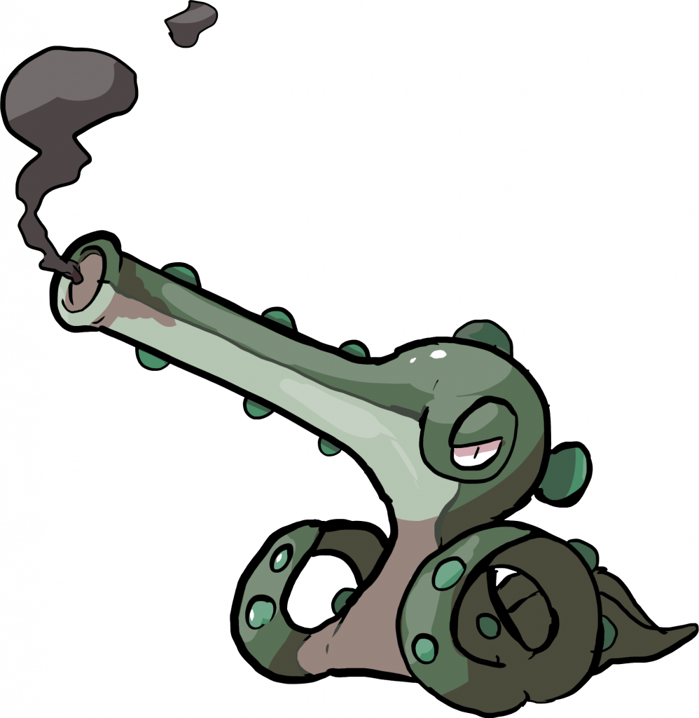 Forme antiche: Octillery cannone