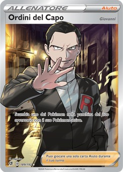 ordini del capo Giovanni GCC Pokémon