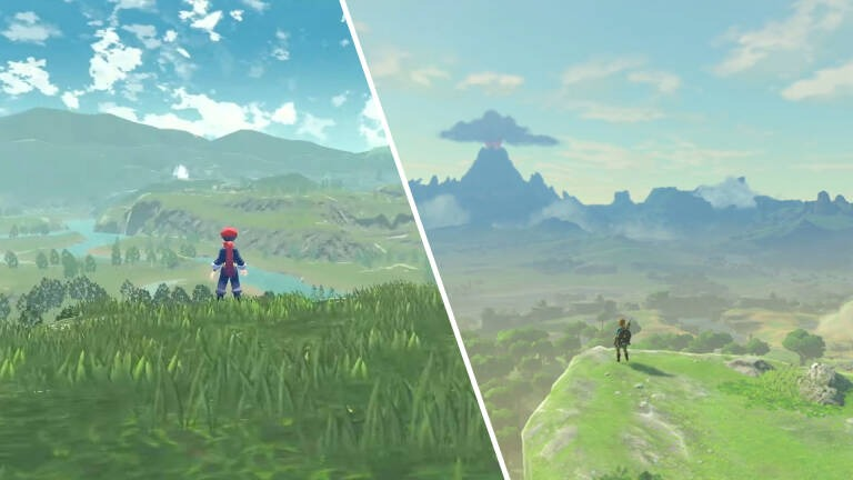 Leggende Pokémon Zelda