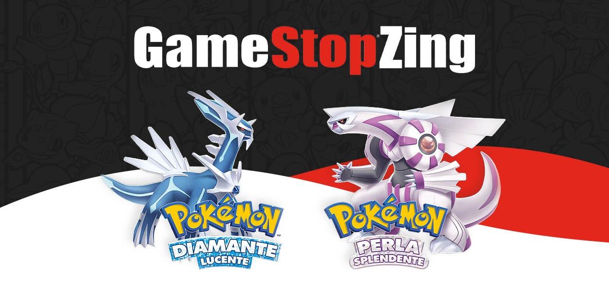 Pokémon Diamante Lucente e Perla Splendente disponibili in preordine da GameStopZing