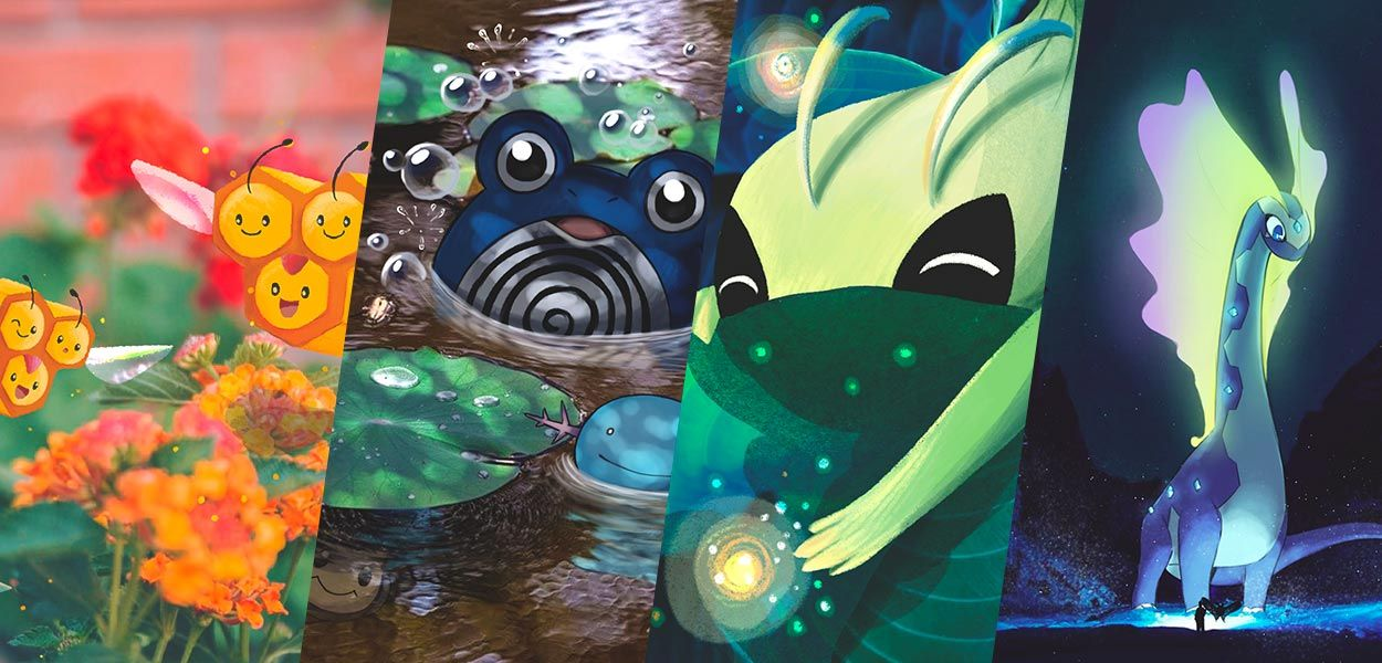 Ecco i Pokémon che proteggono l'ambiente e governano l'ecosistema