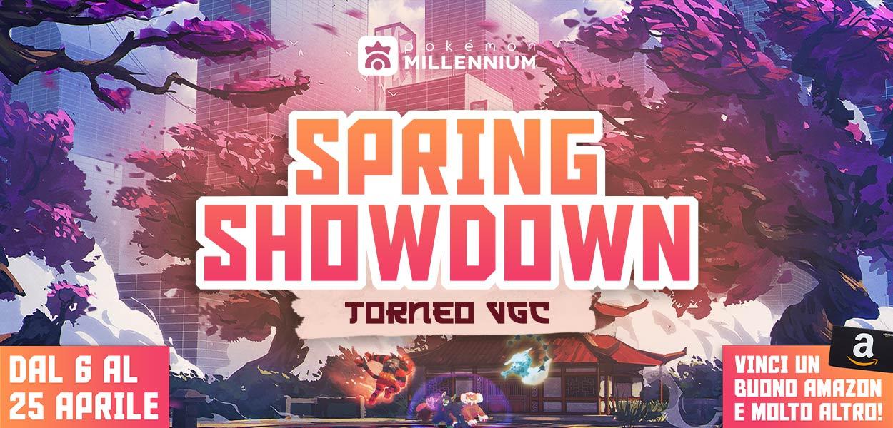 Conquista la vittoria nel nuovo torneo Spring Showdown!