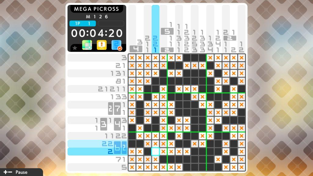 Picross S6 puzzle 1