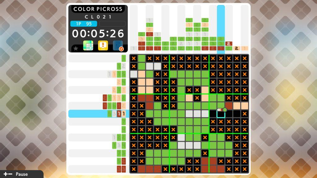 Picross S6 puzzle colorato