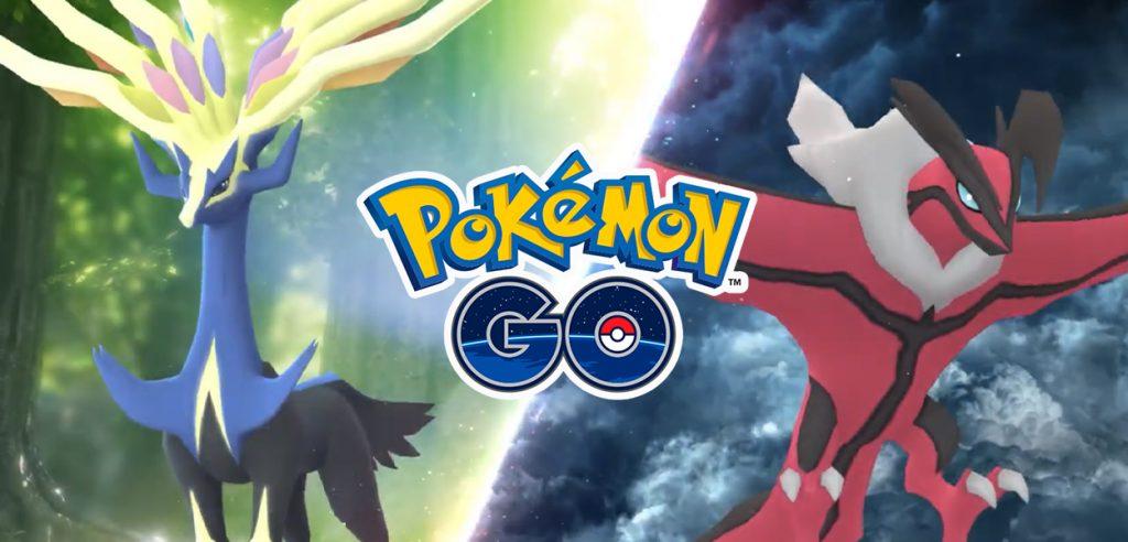 Pokémon GO Xerneas Yveltal
