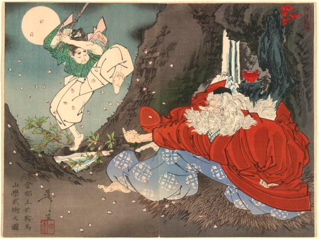 Sōjōbō, il tengu del monte Kurama