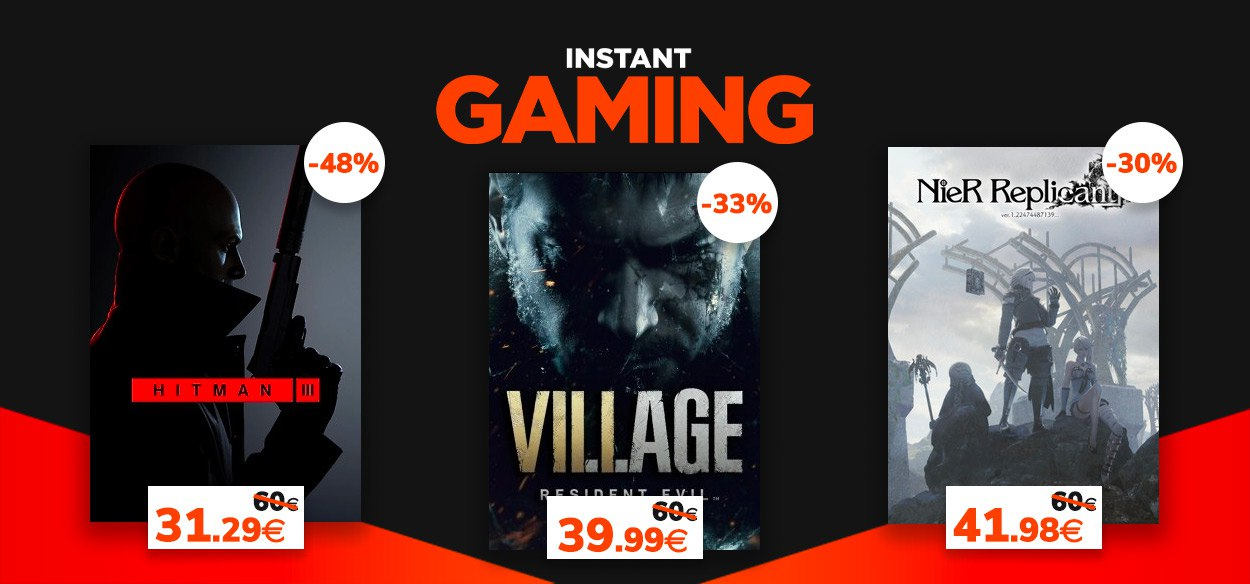 Da Resident Evil a Hitman, continuano le offerte di Instant Gaming