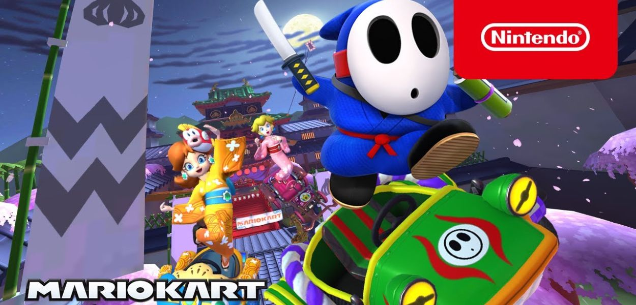 Mario Kart Tour: ecco il trailer del nuovo Ninja Tour