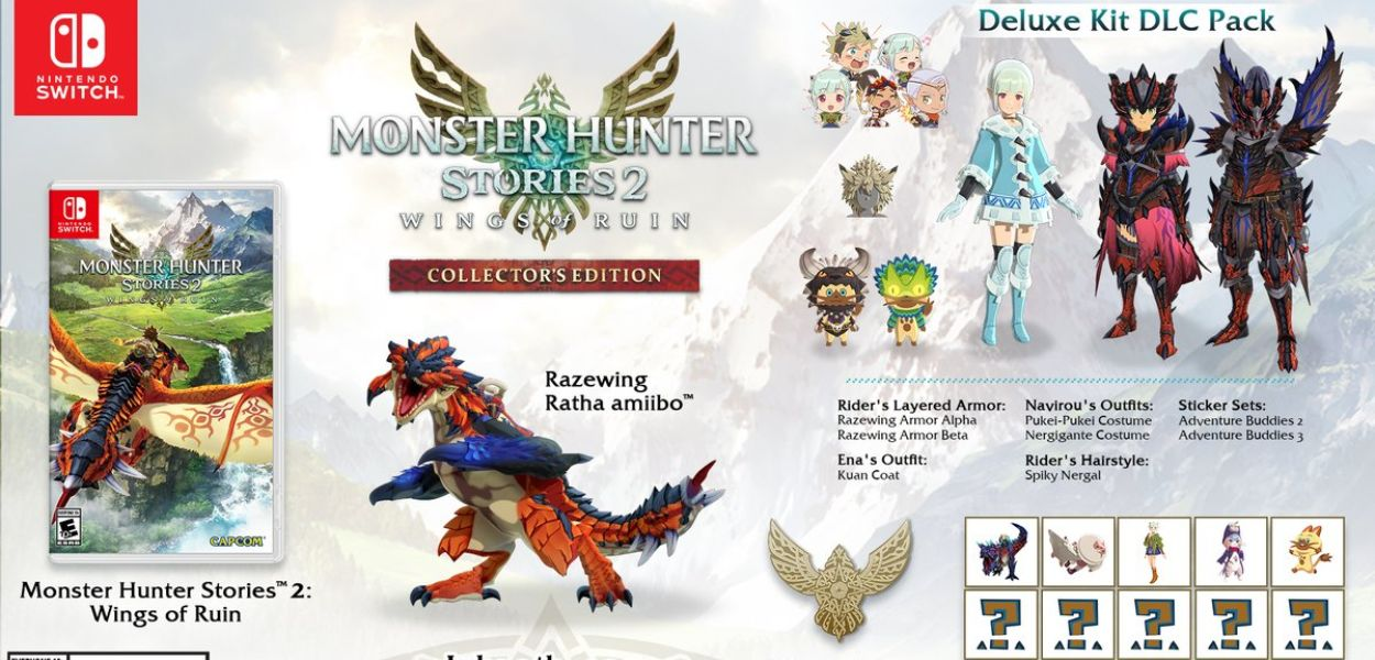 Monster Hunter Stories 2: Wings of Ruin avrà una Collector's Edition