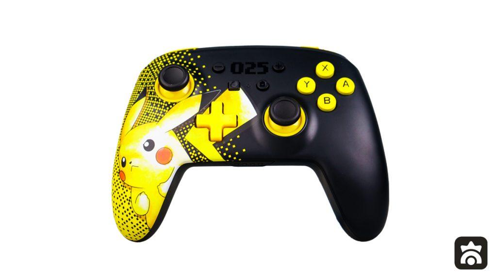 Controller Avanzato Pikachu 025 di PowerA, fronte