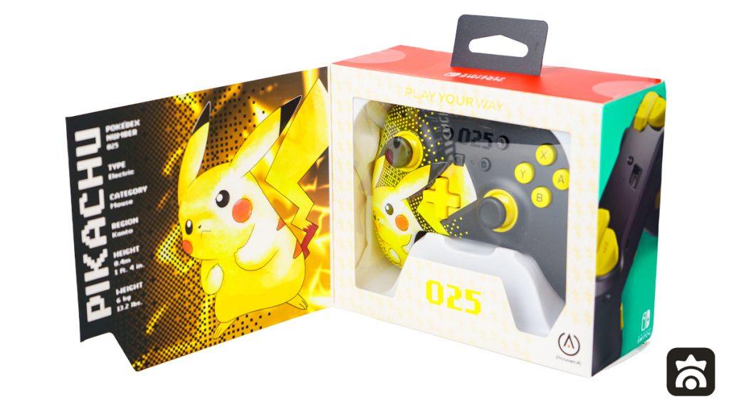Packaging del Controller Avanzato Pikachu 025 di PowerA