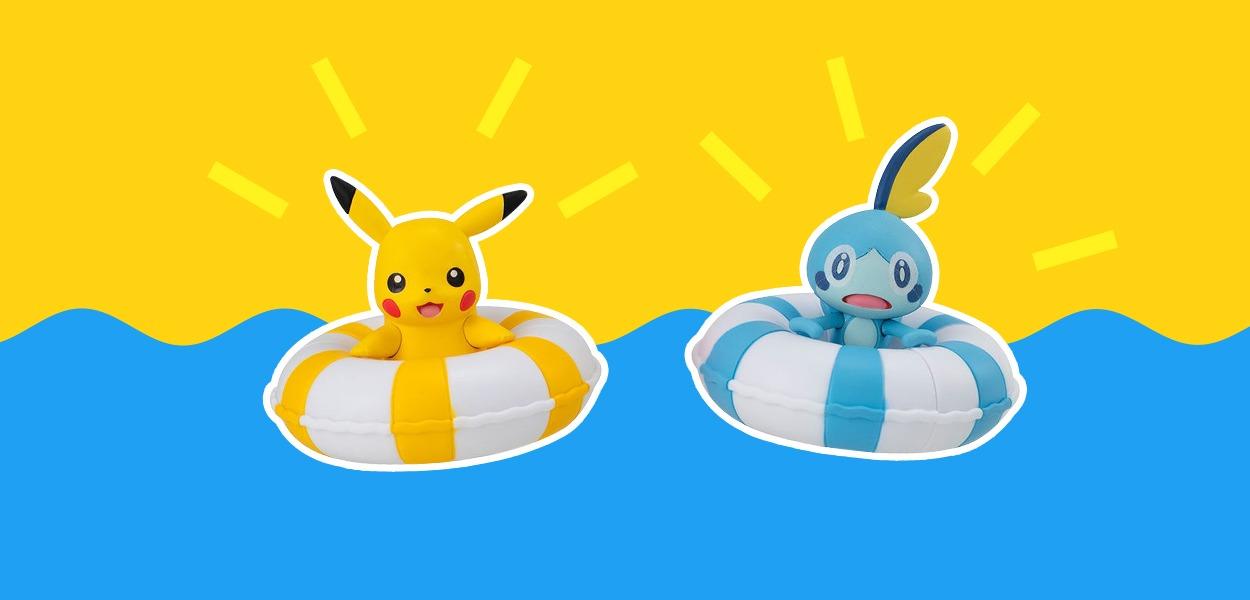 La moda estate 2021 sono le statuine galleggianti Pokémon