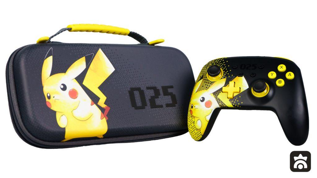 Custodia Protettiva e Controller Avanzato PowerA di Pikachu