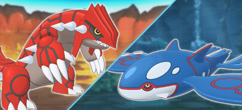 Groudon e Kyogre si risvegliano in Pokémon Masters EX