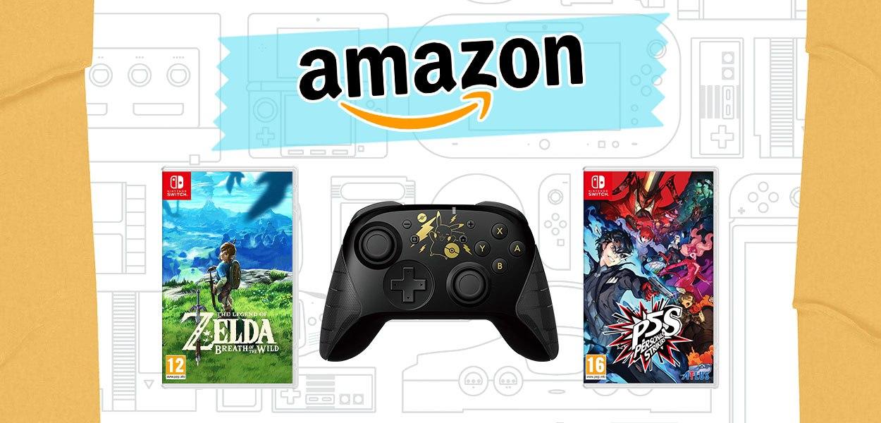 Le offerte Amazon della settimana: da Zelda Breath of the Wild al controller di Pikachu