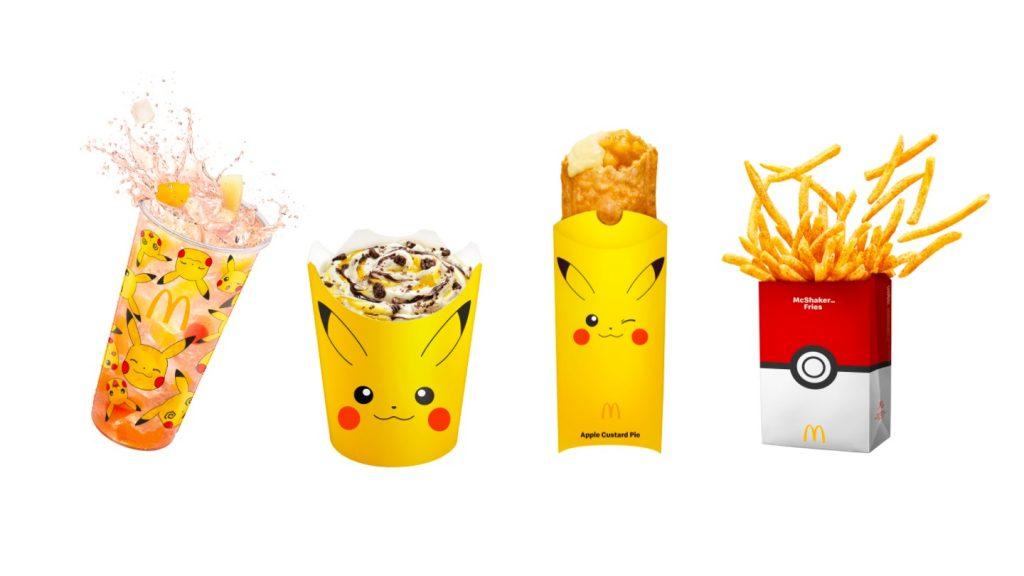 McDonald's Pikachu Menù