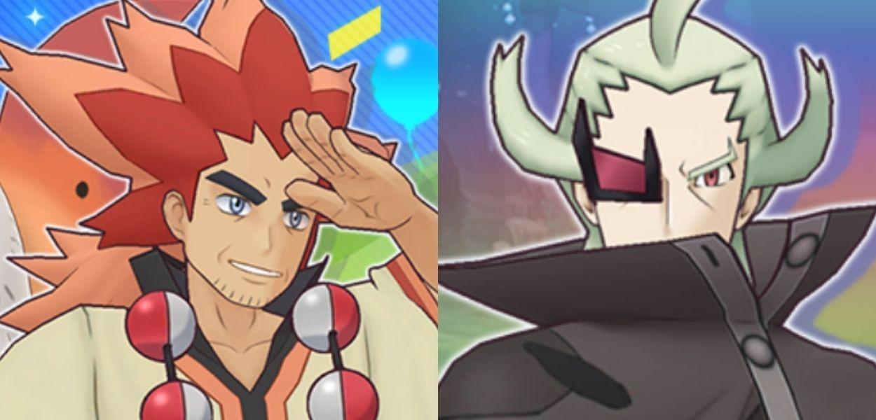 Ghecis e Nardo si scontrano in Pokémon Masters EX