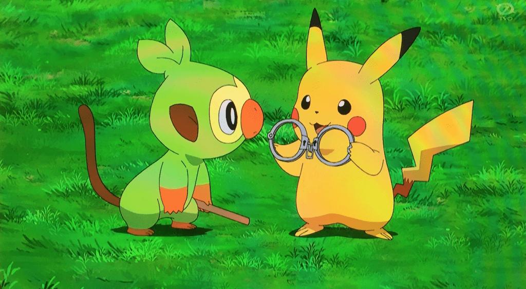 Pikachu Ash Pokémon