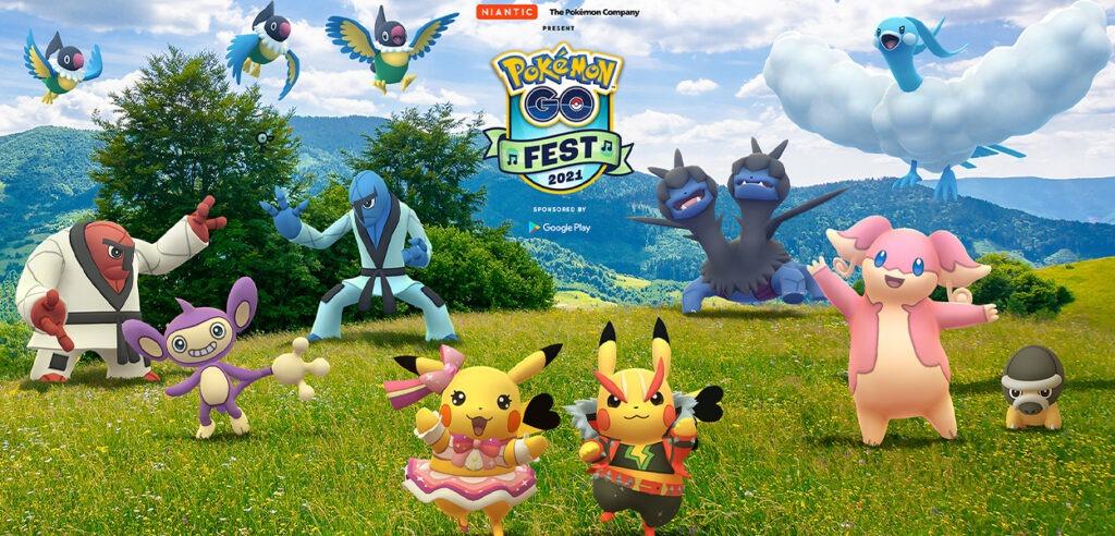 Pokémon GO Fest 2021 copertina