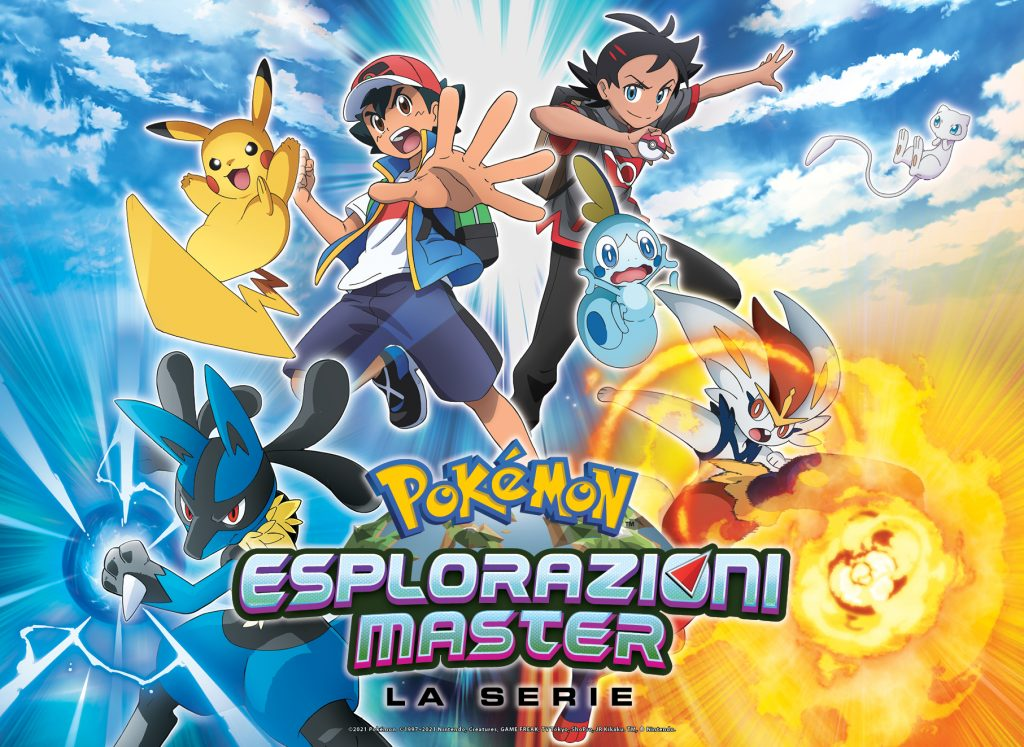 Pokémon Esplorazioni Master serie animata