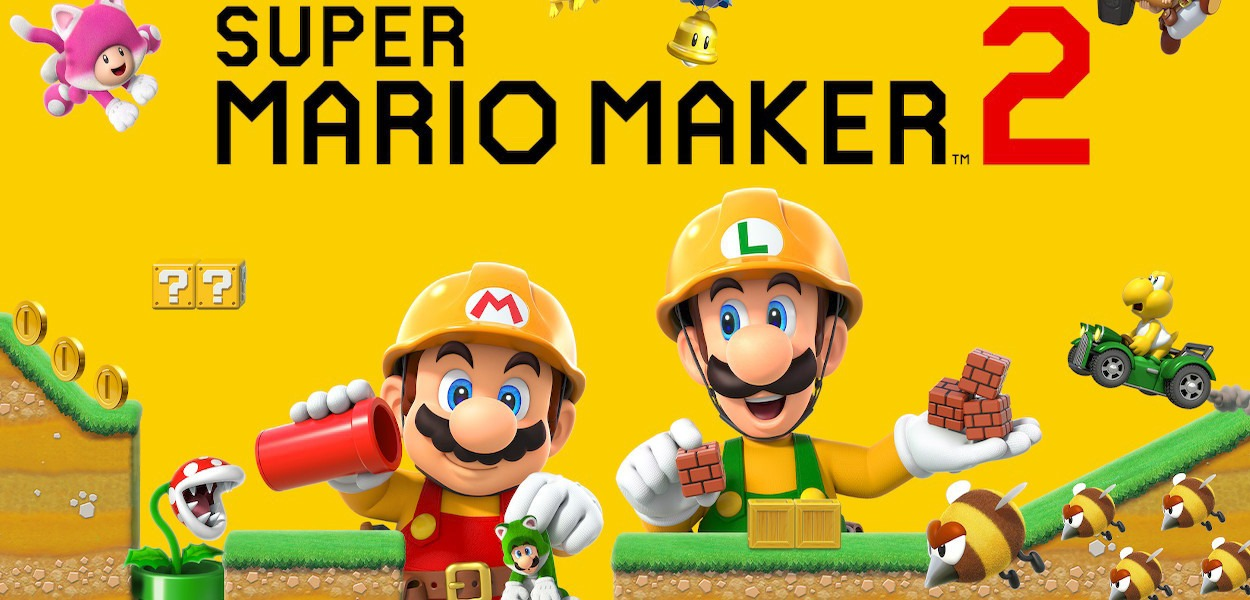 Ben 26 milioni di livelli caricati su Super Mario Maker 2